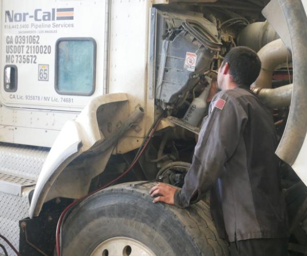semi truck repair bakersfield